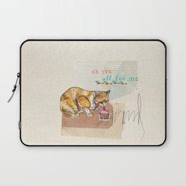 Illustration Friday- Dessert Laptop Sleeve