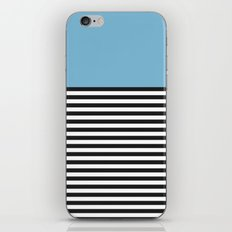 STRIPE COLORBLOCK {DUSK BLUE} iPhone & iPod Skin