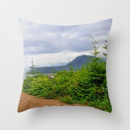 Peace, Seclusion and Natural Beauty Throw Pillow