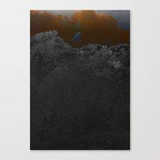 atmosphere 52 · diving Canvas Print