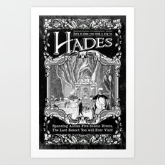 A Trip to Hades Art Print