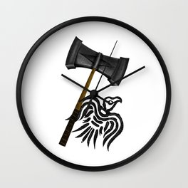 Thor Viking War Hammer Wall Clock