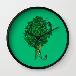 What the Bark is THAT!? Wall Clock