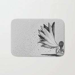 Burnt Wings Bath Mat
