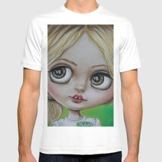 Sookie Stackhouse Blythe Doll  White MEDIUM Mens Fitted Tee
