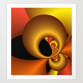 games with geometry -25- Art Print