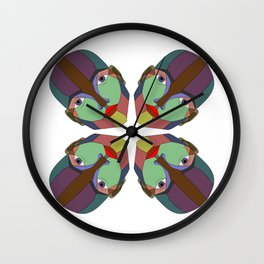 Color Man Wall Clock