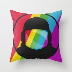 Retronaut. Throw Pillow