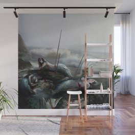 the end of the world Wall Mural