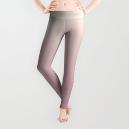 Color gradient 8. Pink. abstraction,abstract,minimalism,plain,ombré Leggings
