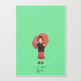 Audrey Tautou - Amelie Canvas Print
