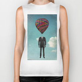balloon man Biker Tank