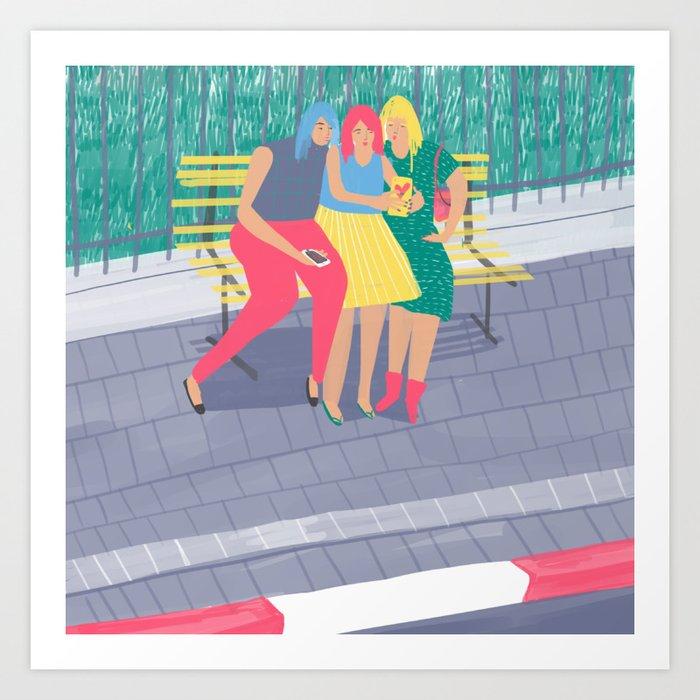 Tel-Aviv #4 Art Print