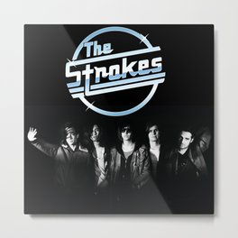 THE STROKES BAND TOUR DATES 2019 PAHOMAN Metal Print