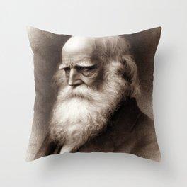 William Cullen Bryant Throw Pillow