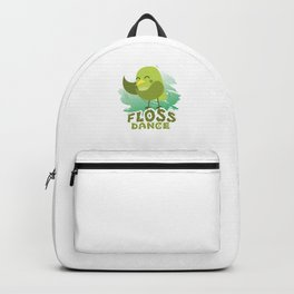 Floss Dance Move Bird Backpack