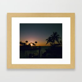 La Florida Framed Art Print