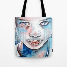 When the rain washes you clean, watercolor illustration Tote Bag