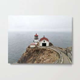 Point Reyes Lighthouse Metal Print