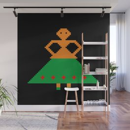 Woman with skirt Wall Mural