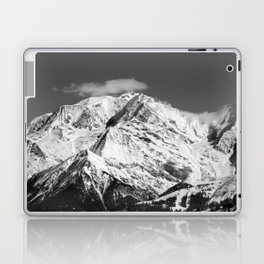 Mt. Blanc with cloud. Laptop & iPad Skin
