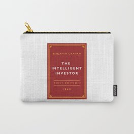 The Intelligent Investor - Benjamin Graham (Investment Classics) Carry-All Pouch