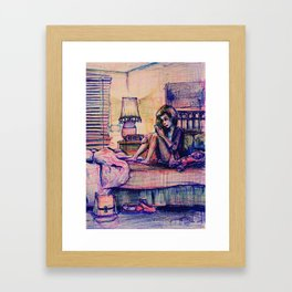 Ambivalent Unrequited Love Framed Art Print