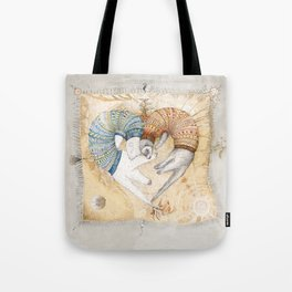 Ferret love Tote Bag