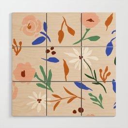 Tulum Floral Wood Wall Art