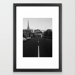George Street, Dunedin Framed Art Print