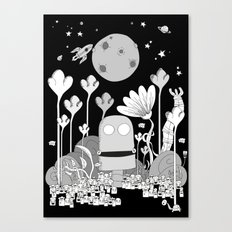 Monsterland Canvas Print
