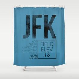 JFK II Shower Curtain