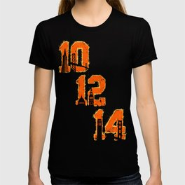 Black / Orange Dynasty T-shirt