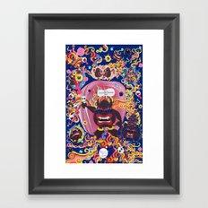 Mokshasura Mandala Framed Art Print