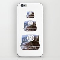 polaroid iPhone & iPod Skins featuring Polaroid by Lara Trimming