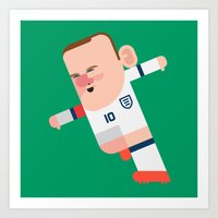 WR10 Mini | Three Lions Art Print