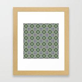 Moroccan Tea Seamless Pattern Framed Art Print