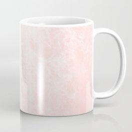 Pink Coral Marble Coffee Mug