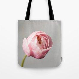 blossom on grey Tote Bag