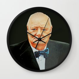 WINSTON CHURCHILL - British Statesman Wall Clock