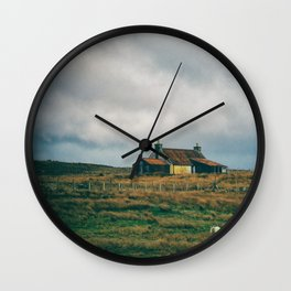 Standing In Isolation Wall Clock