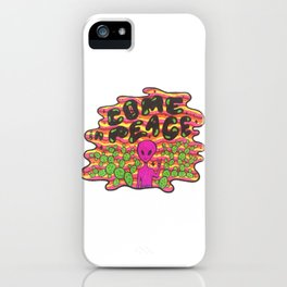 Come in Peace iPhone Case