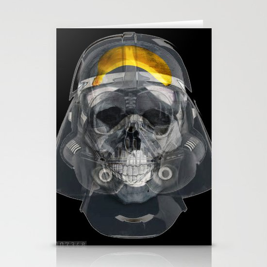 vader xray Stationery Cards