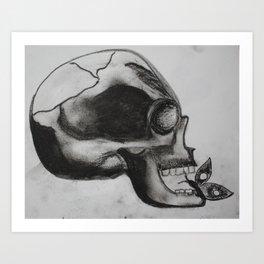 Bitten Art Print