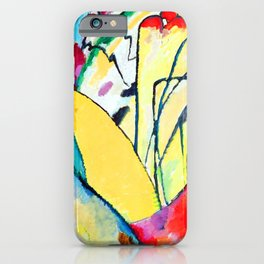 Wassily Kandinsky Improvisation X iPhone Case