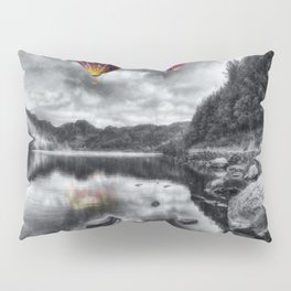 Above The Lake Pillow Sham