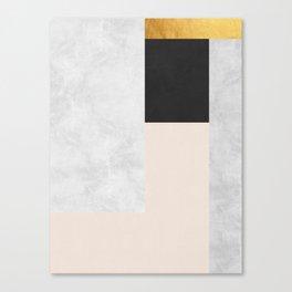 Gold Modern Art XVI Canvas Print