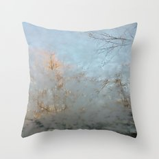 Frost Touch Throw Pillow