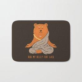 Buddha Bear Bath Mat