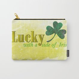 Lucky with a Side of Irish Carry-All Pouch